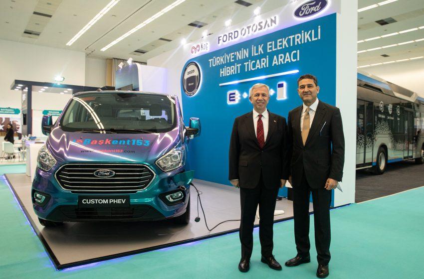 Mansur Yavaş'ın Katılımıyla Türkiye'nin İlk Şarj Edilebilir, Hibrit, Elektrikli Ticari Aracı Ankara'da Yollara Çıkacak