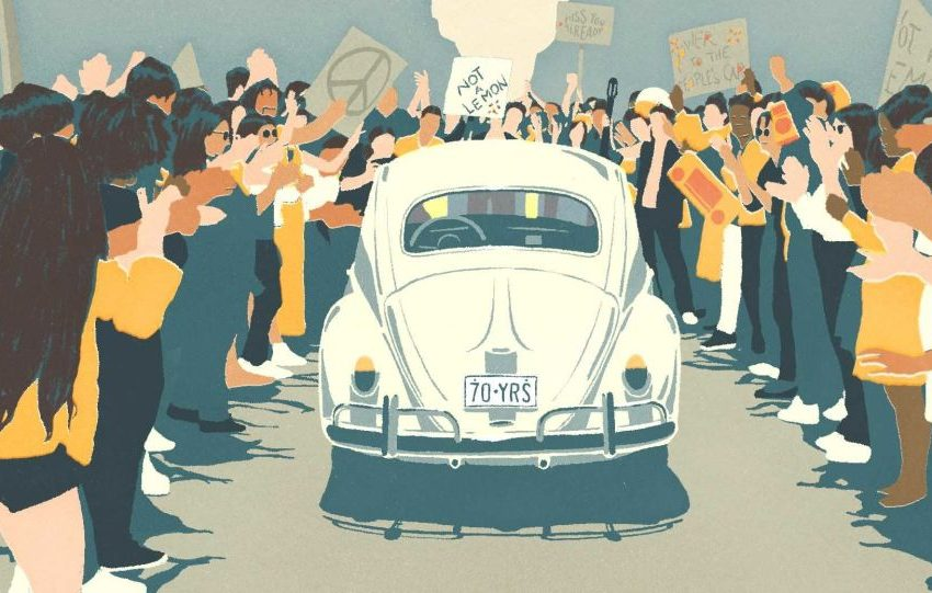 Volkswagen Beetle'a Duygusal Veda