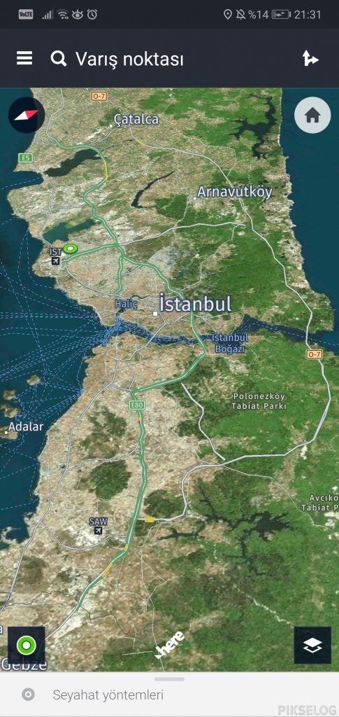 Screenshot 20200424 213141 com.here .app .maps