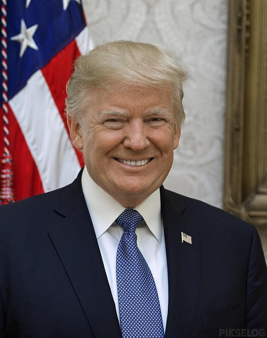 853px Donald Trump official portrait